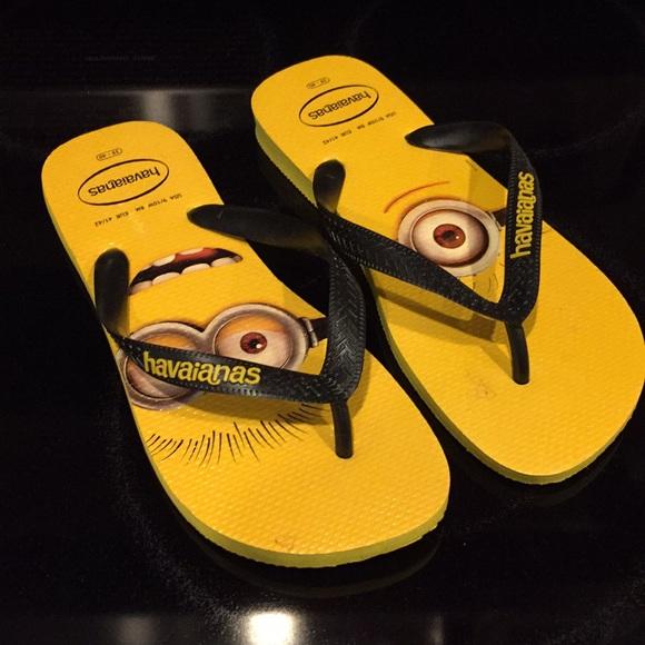 959f72d2c07c43 Havaianas Shoes - Havaianas  Minions  Flip Flops Unisex